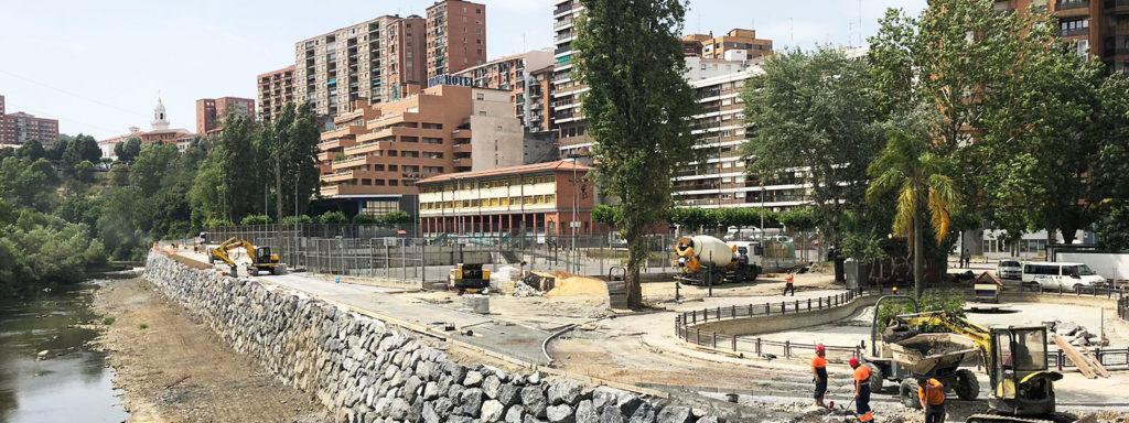 Obras de urbanización
